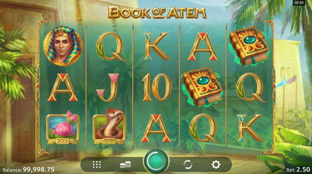 Book of Atem Slots UK Game Play