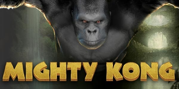 mighty kong slots game logo