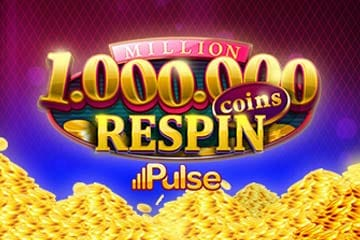 Million Coins Respin Slots Game Logo