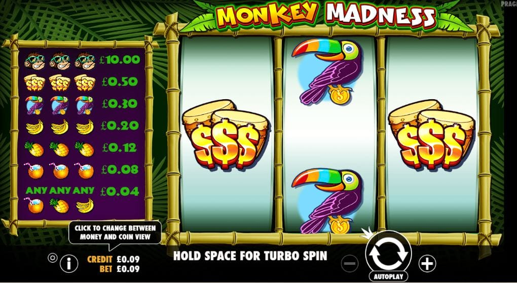 Monkey Madness Gameplay