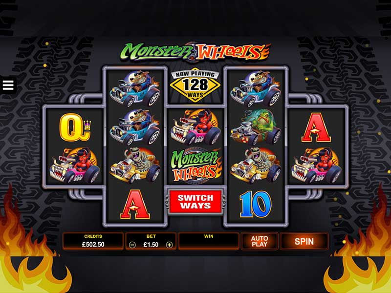 Monster Wheels Slot Game Gameplay