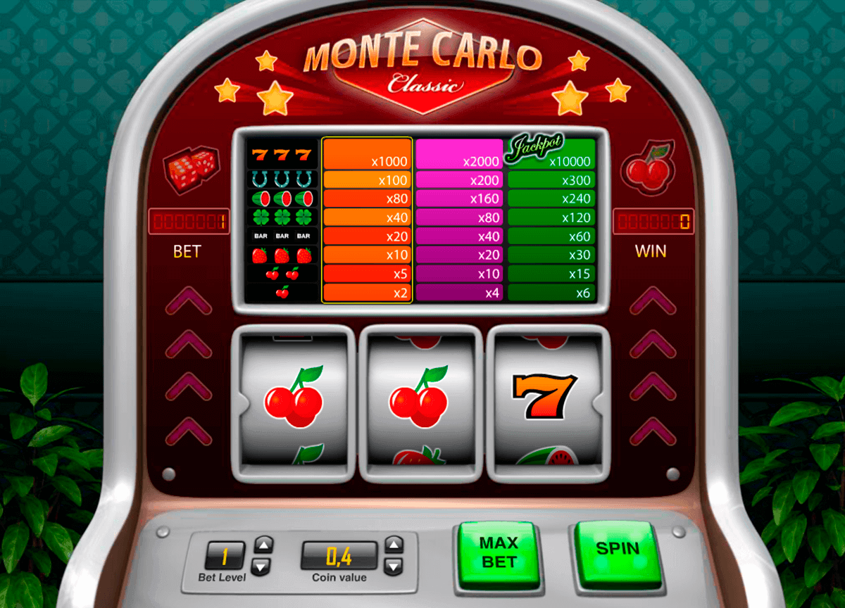 Monte Carlo Classic Gameplay
