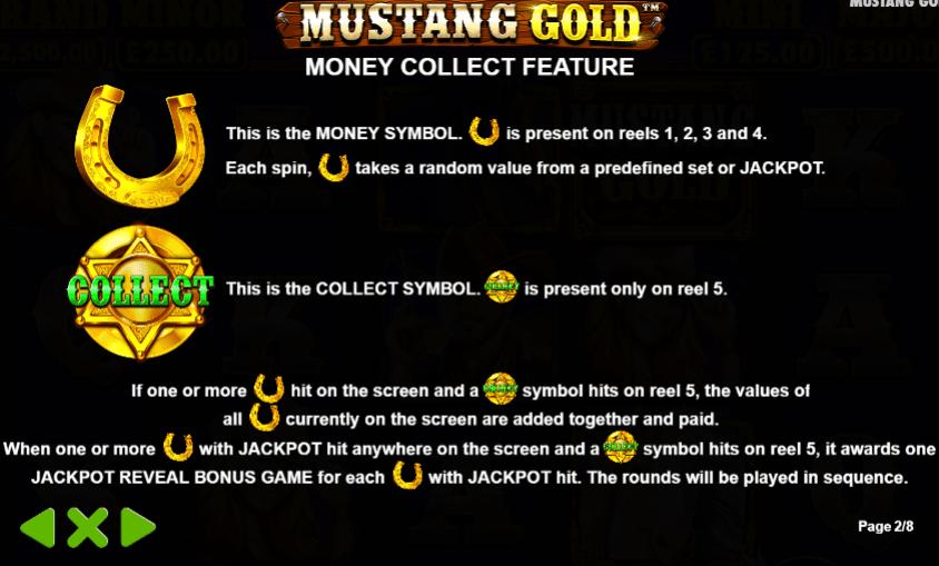 Mustanf Gold Symbols