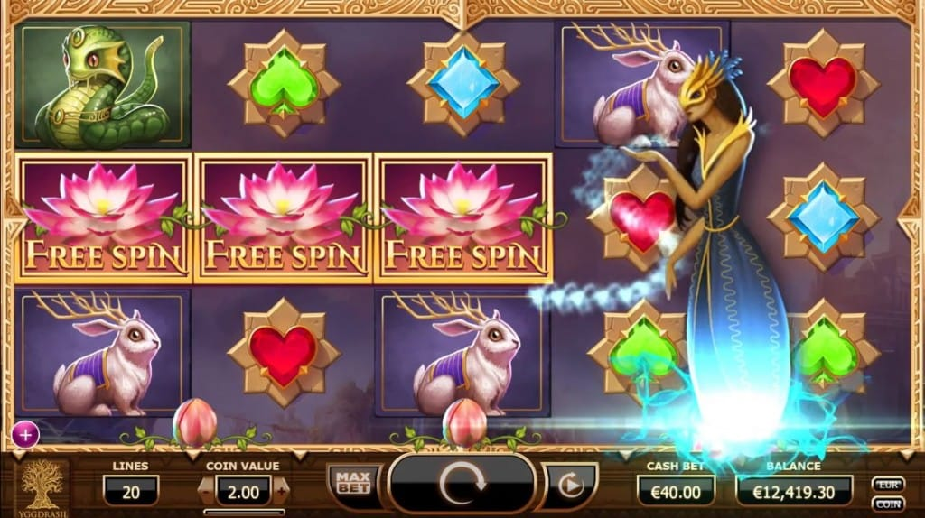 Nirvana Slot Game Gameplay