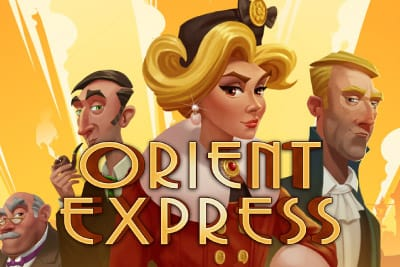 Orient Express slots game logo