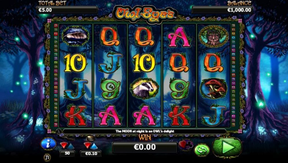 Owl Eyes Slots Game gameplay