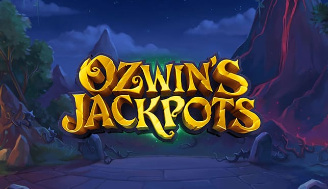 Ozwin's Jackpots Slots Game Logo