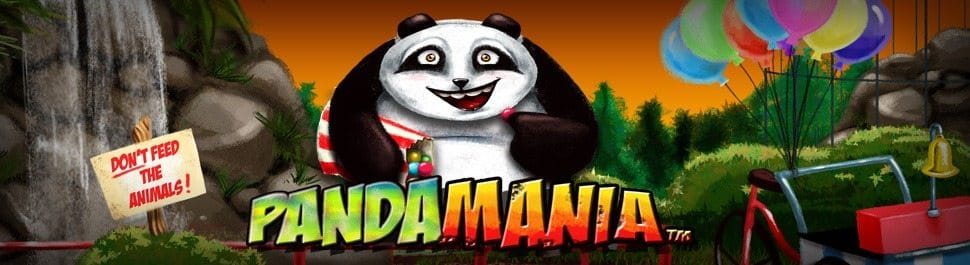 Pandamania Slot Game Logo