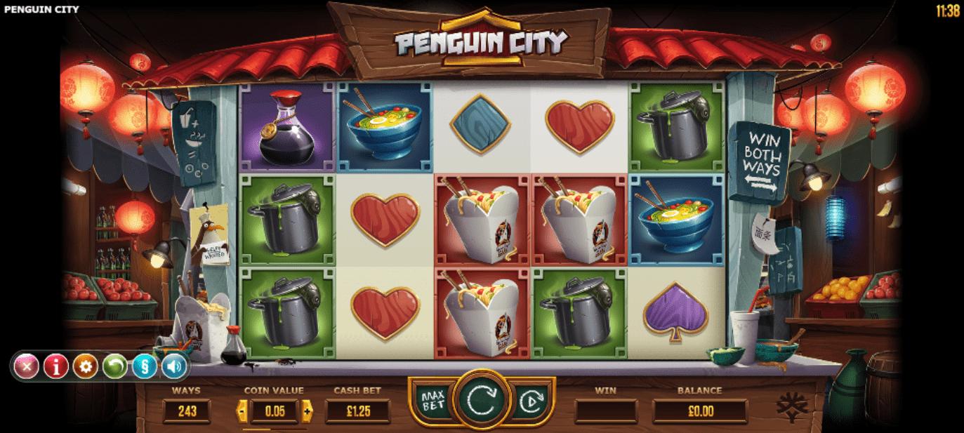 Penguin City Gameplay