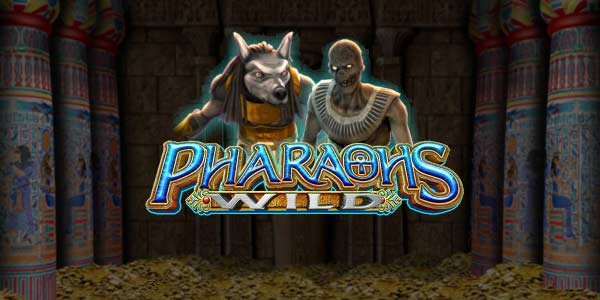 pharaoh's wild slots game logo