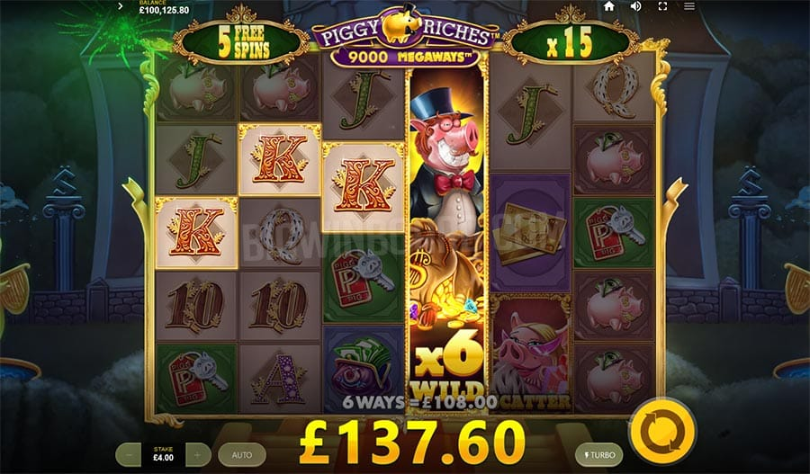piggy riches megaways bonus features