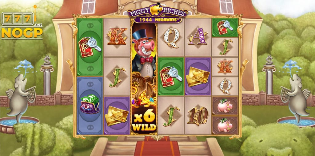 piggy riches megaway gameplay slot