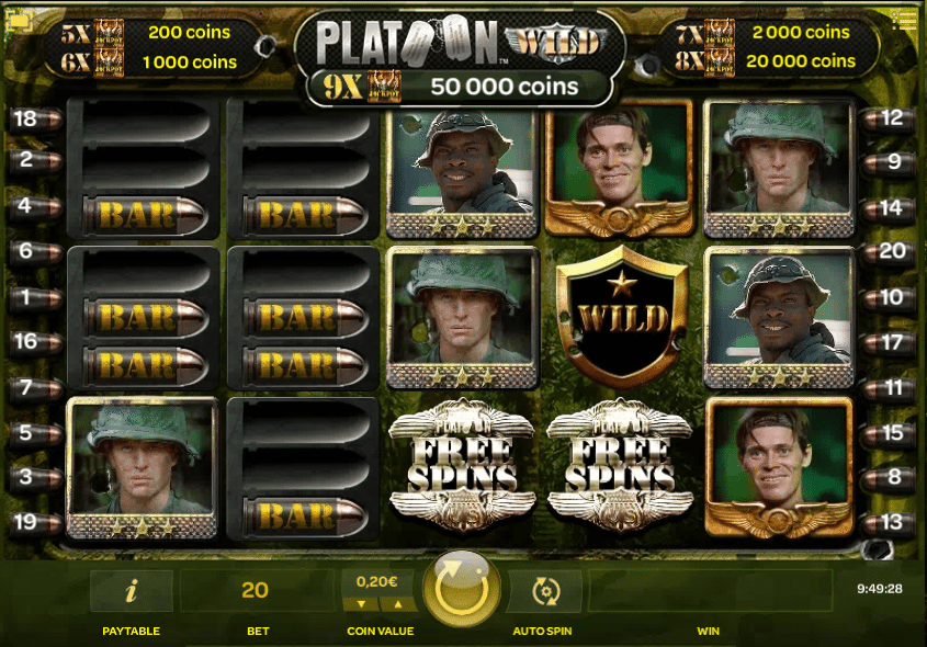 Platoon Gameplay
