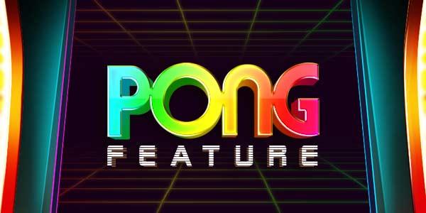 Pong Slots Game Logo