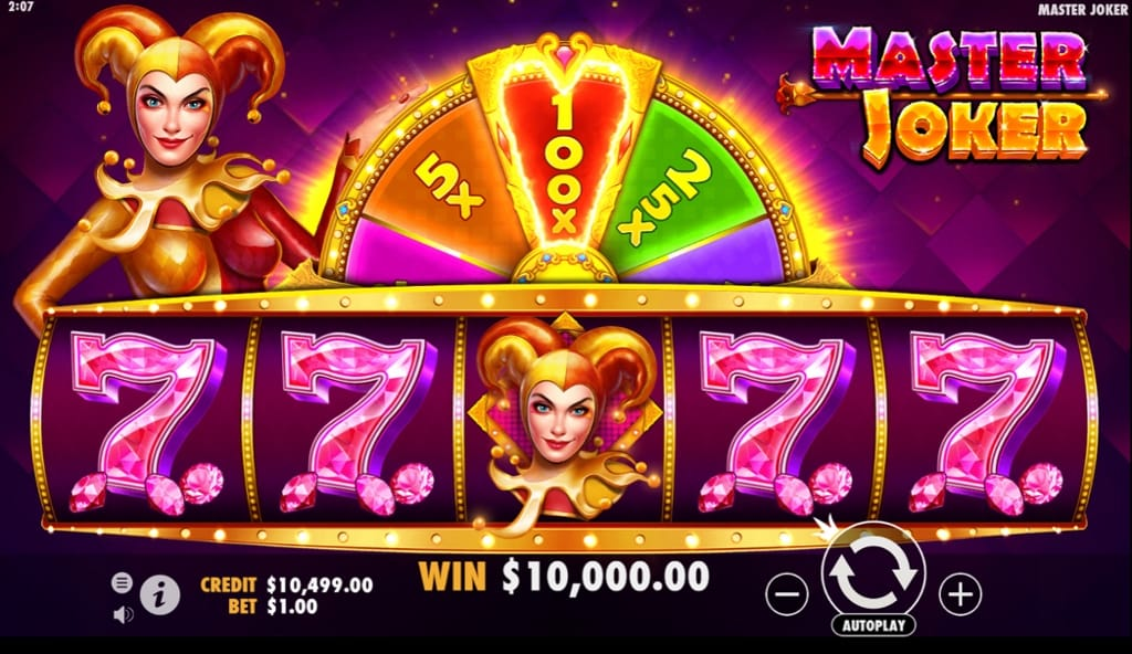 Master Joker Online Casino Game