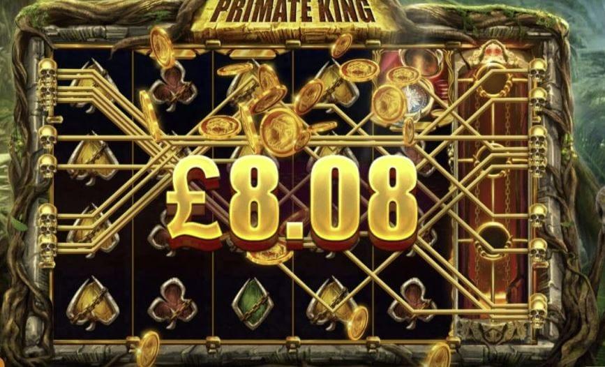 Primate King Slot Gameplay