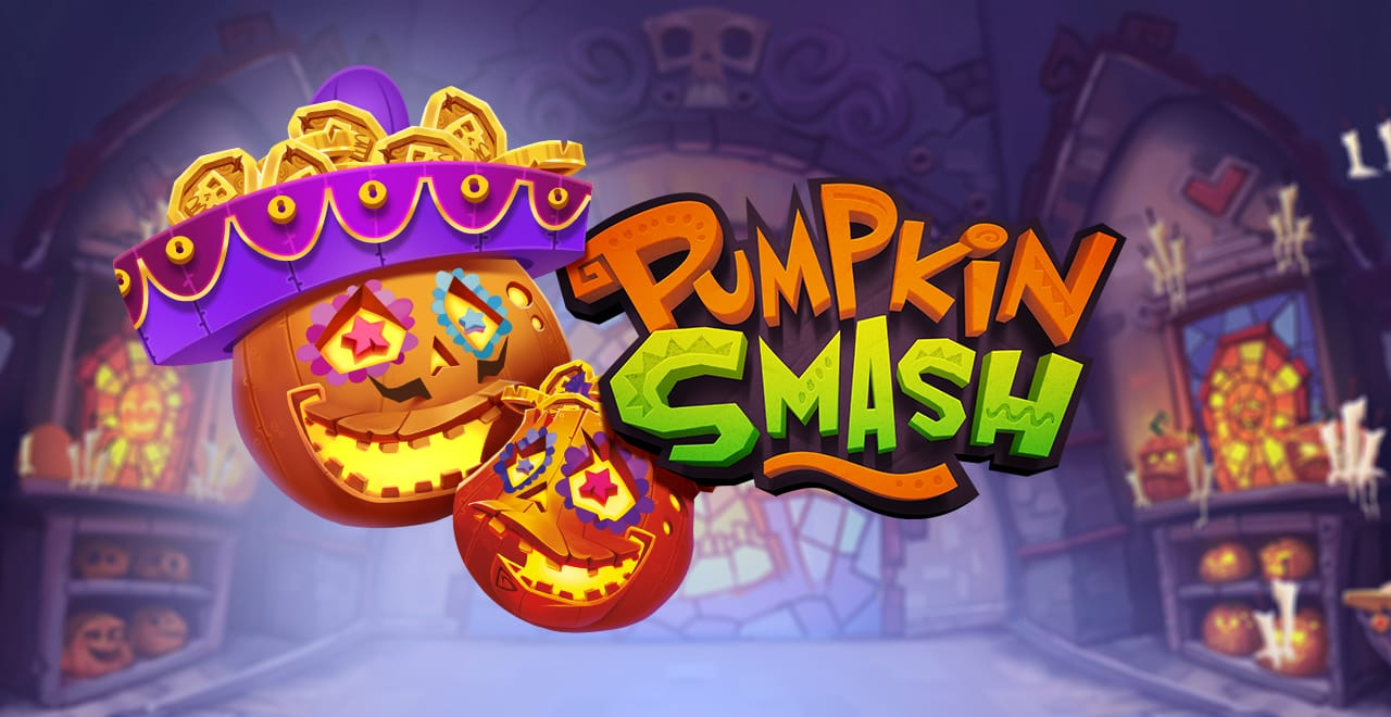 Pumpkin Smash Slots game logo