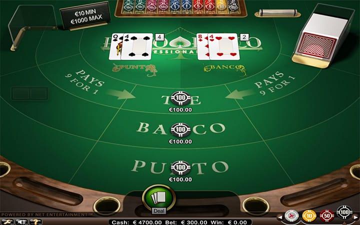 Punto Banco Pro gameplay 2