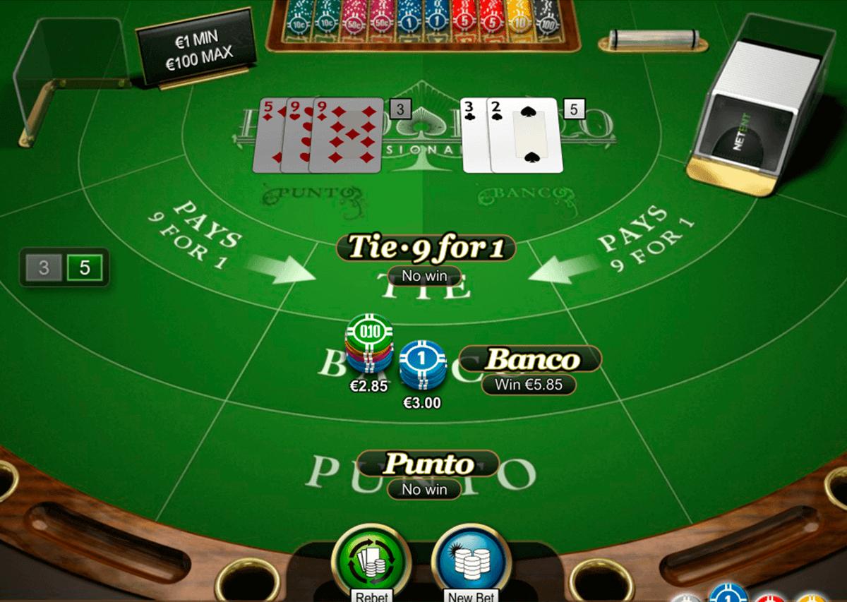 Punto Banco Pro gameplay