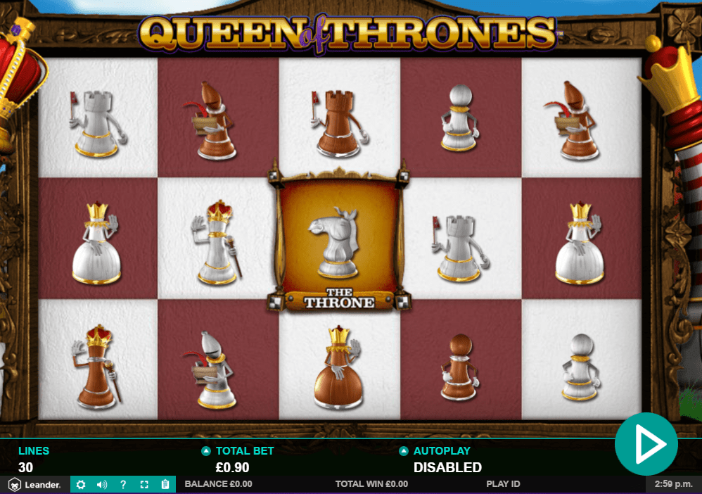 Queen Of Thrones Gameplay