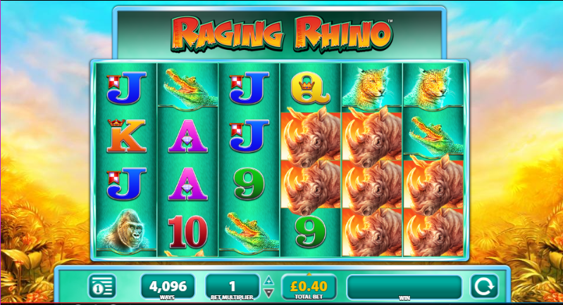 Raging Rhino Gameplay