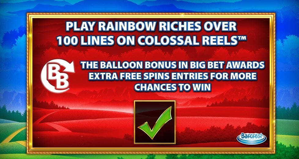Rainbow Riches Reels of Gold Introduction