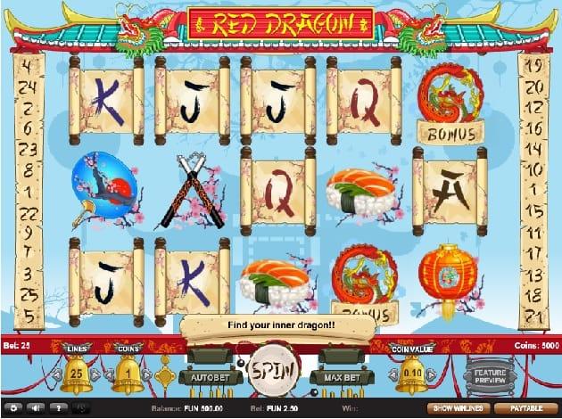 Red Dragon Slot Game Gameplay
