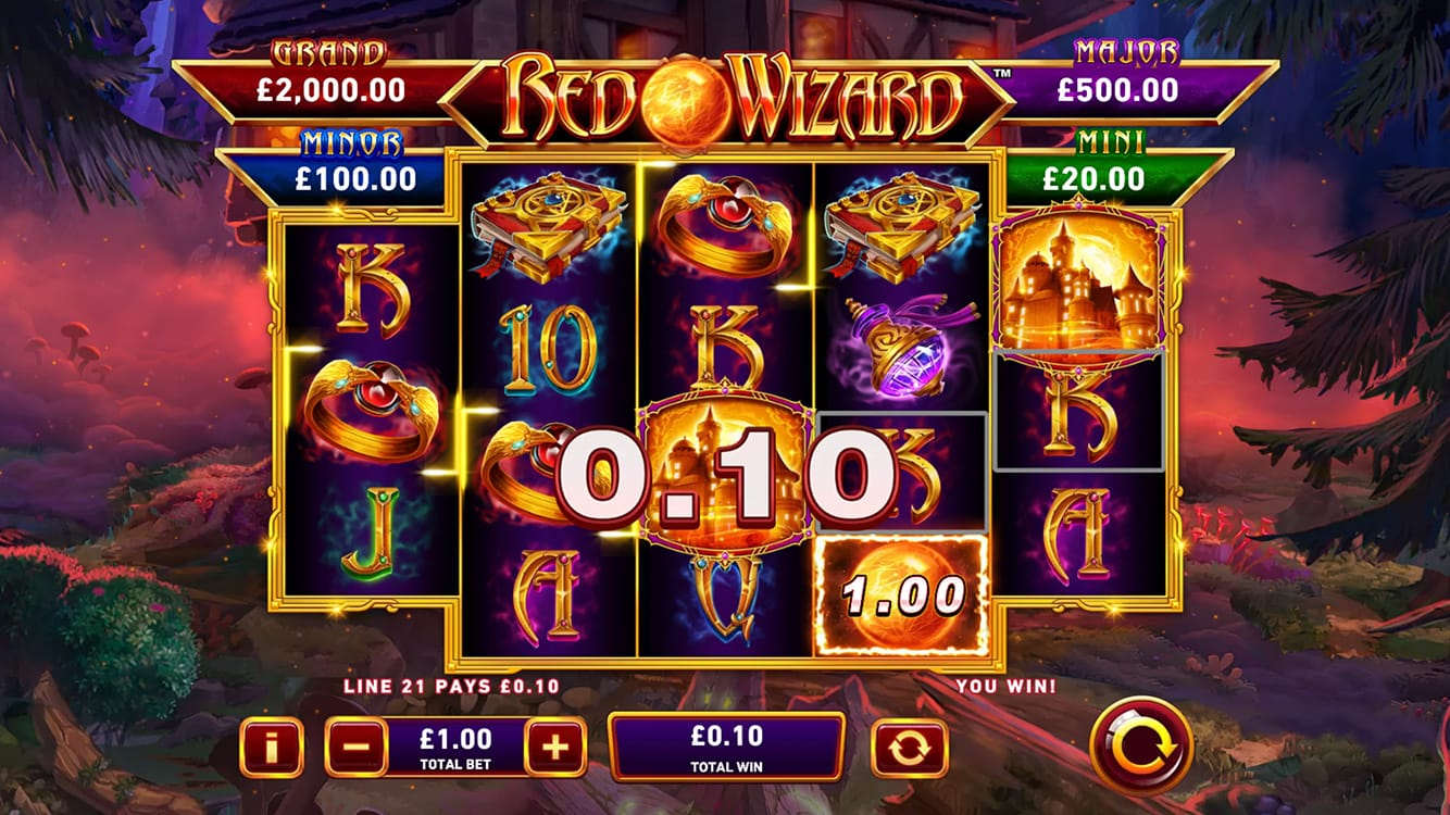 Red Wizard Slot Gameplay