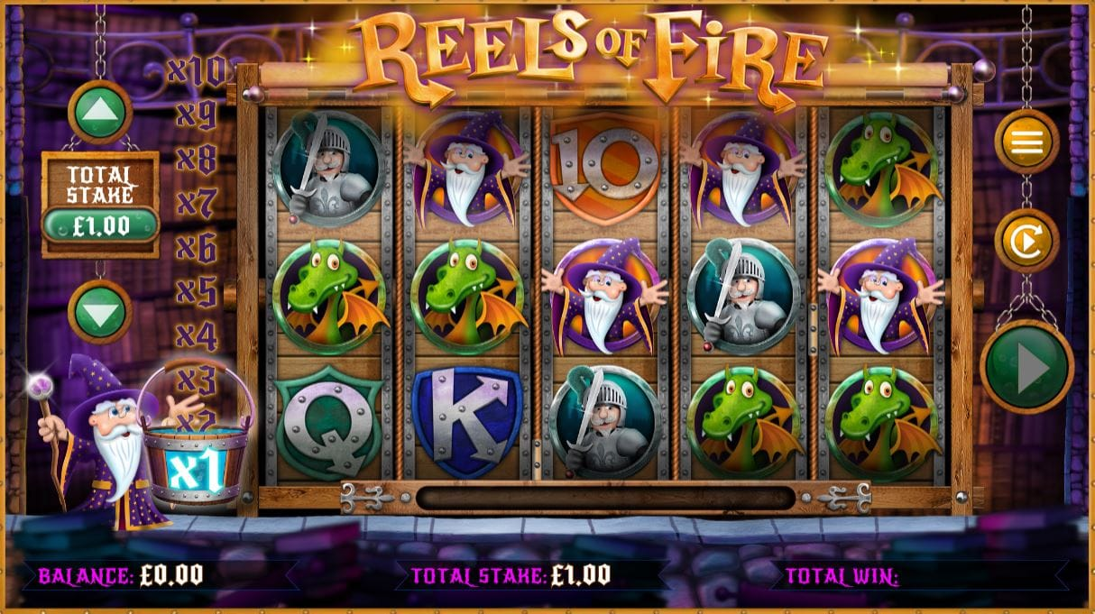 Reels of Fire gameplay
