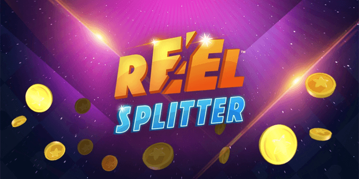 Reel Splitter Slot Game Logo Image