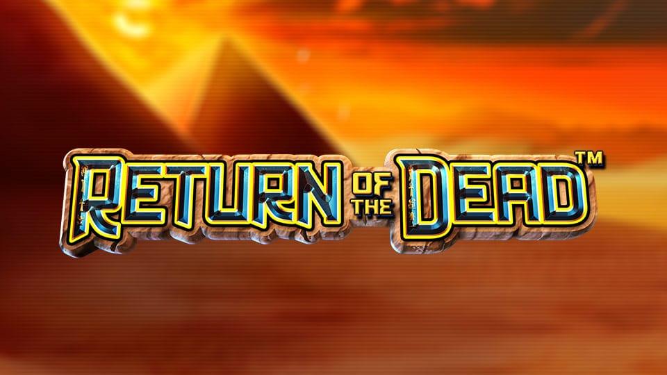 Return of the Dead Slot Logo Slots Baby