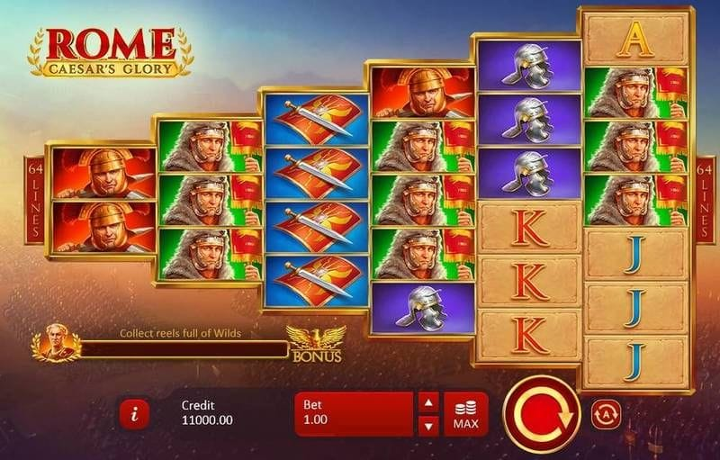 Rome: Caesar's Glory Game Play