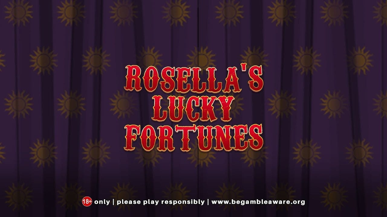 Rosellas Lucky Fortune slots game logo