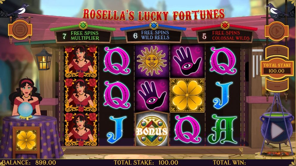 Rosellas Lucky Fortune gameplay