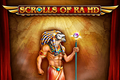 Scrolls of RA Slot Game Logo