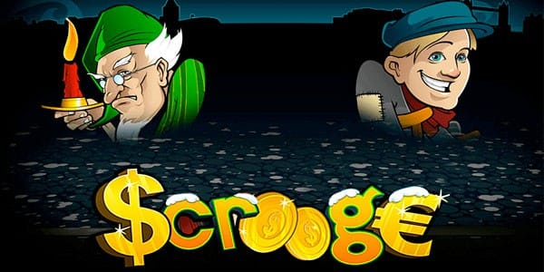 Scrooge Christmas Slot Game Logo