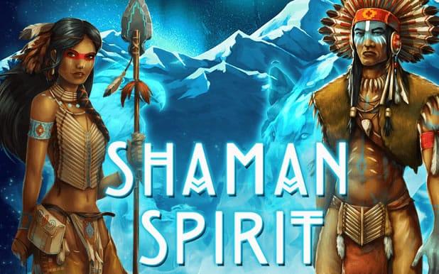 Shaman's Spirit Logo Progressive Jackpot