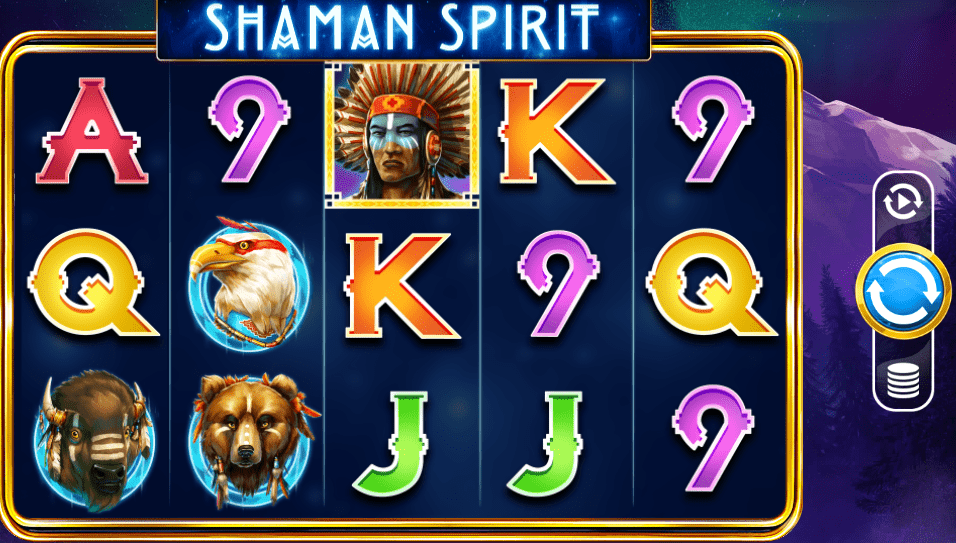 Shaman's Spirit Progressive Screenshot