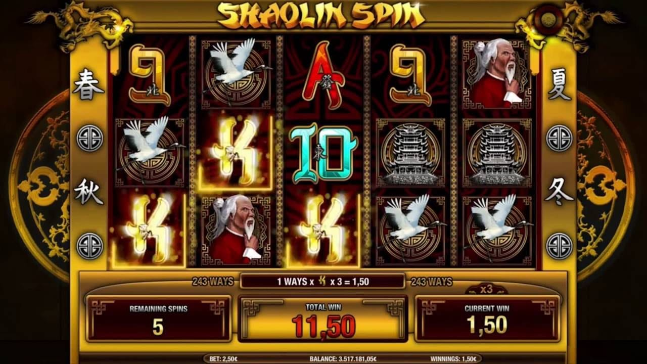 Shaolin Spin Slot Game Gameplay