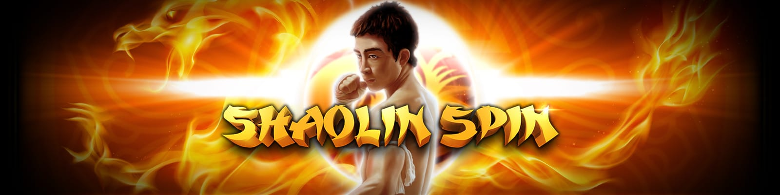 Shaolin Spin Slot Game Logo