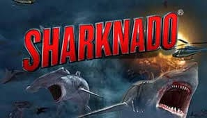 Sharknado Slots Game logo