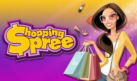 Shopping Spree Slots Game logo