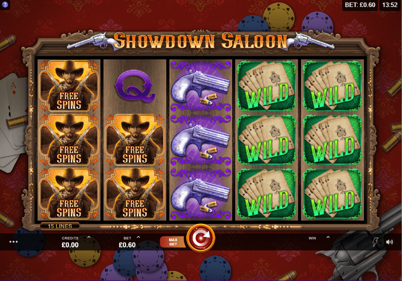 Showdown Saloon Gameplay