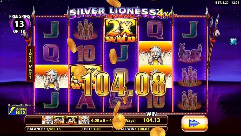 silver lioness win 4x