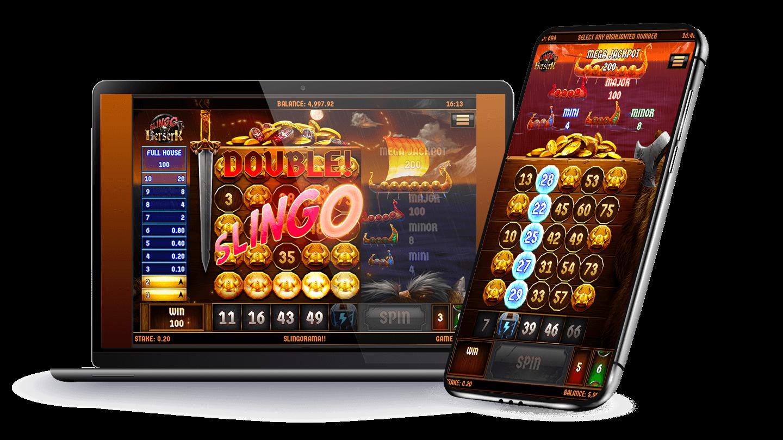 Slingo Berserk Mobile Slots