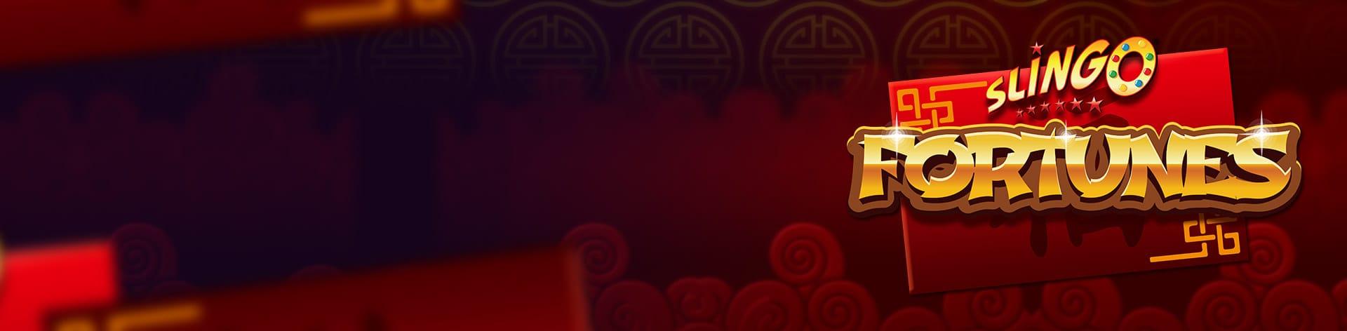Slingo Fortunes Slot Logo Slots Baby