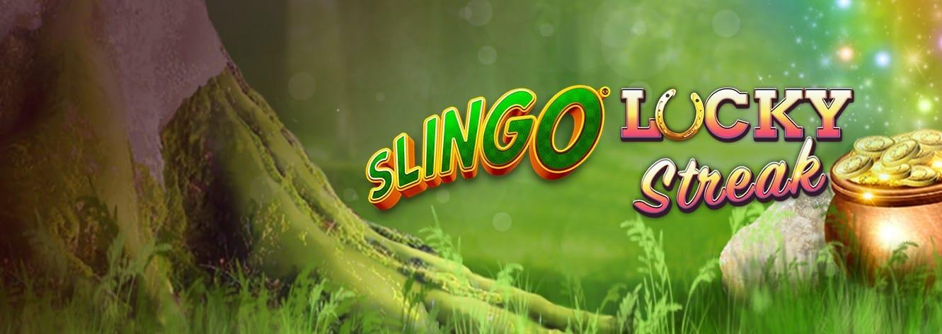 Slingo Lucky Streak Slot Logo Slots Baby