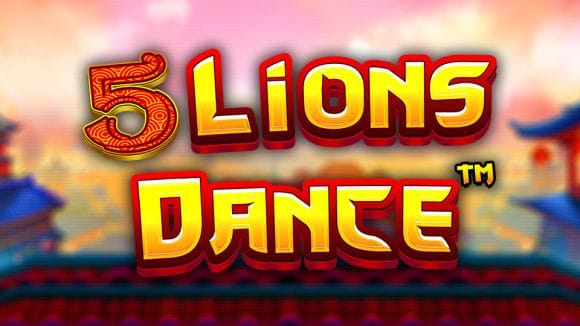 5 Lions Dance Slot Logo Slots Baby
