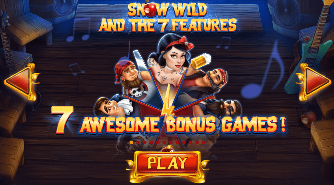 Snow Wild And 7 Features Logo