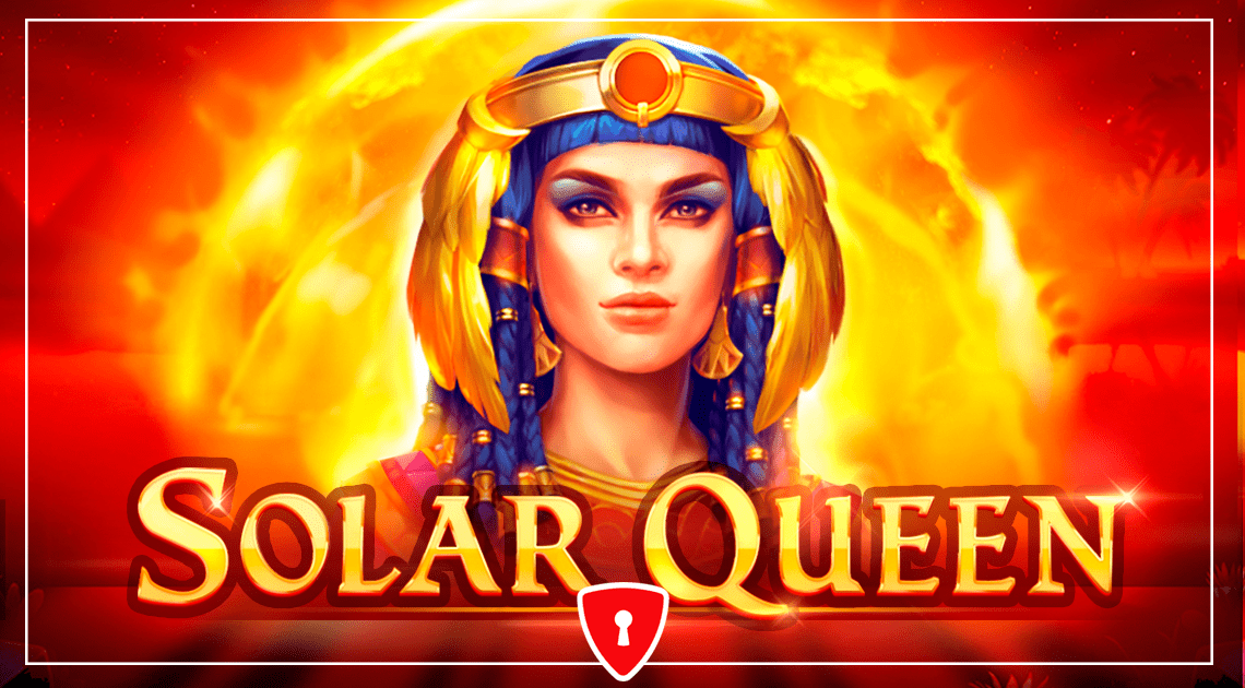 Solar Queen Video Slot Logo